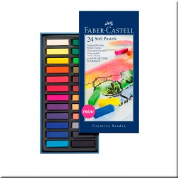 24 Barras Pastel Faber-Castell