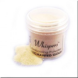 Polvo Embossing Whispers Enchanted Gold Pearl Glitter