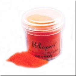 Polvo Embossing Whispers Orange Opaque
