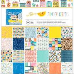 Papeles Scrap Finders Keepers Amy Tangerine (30x30)