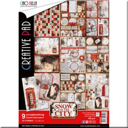 Papeles Scrapbooking Snow And The City (A4)