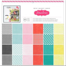 Papeles Scrap The Best Of Pink Paislee (30x30)
