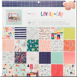 Papeles Scrap Lovely Day Dear Lizzy (30x30)