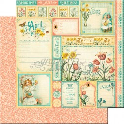 Papel Scrapbooking Abril Cut Apart