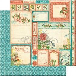 Papel Scrapbooking Julio Cut Apart