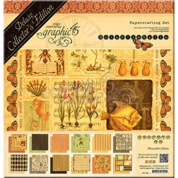 Set Graphic 45 Deluxe Botanicabella (30x30)