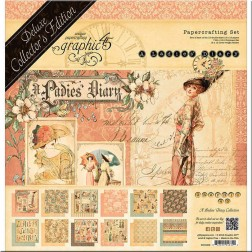 Set Graphic 45 Deluxe A Ladies' Diary (30x30)