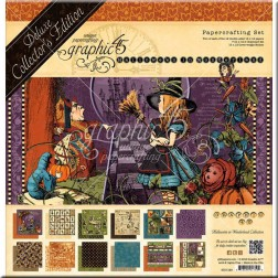 Set Graphic 45 Deluxe Halloween in Wonderland (30x30)