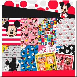 Papeles Scrapbooking - Mickey Mouse & Friends (30 x 30)