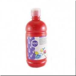 Tempera Roja Opaca (500ml)