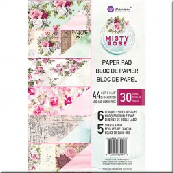 Papeles Scrapbooking Misty Rose (A4) Prima