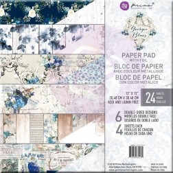 Papeles Scrapbooking Georgia Blues (30x30) Prima