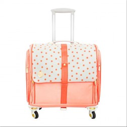 Maleta 360º Crafter's Bag - Blush Dot