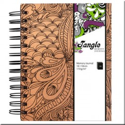 Cuaderno Memory Journal Tangle Jungle (kraft)