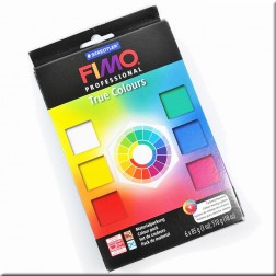 Fimo Professional Kit 6 Pastillas True Colors (85 grs)