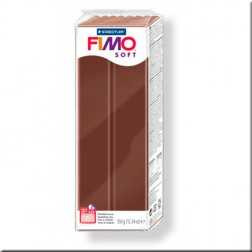 Fimo Soft Marrón Chocolate (350 grs.)