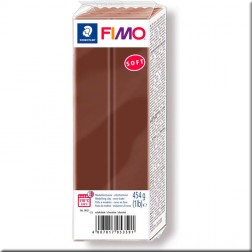 Fimo Soft Marrón Chocolate (454 grs.)