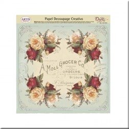 Papel Decoupage Dayka A Moll Grocer Co.