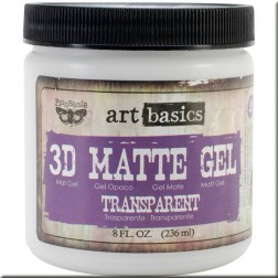 3D Matte Gel (236 ml) Finnabair art basics