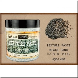 Texture Paste Finnabair (250 ml) Black Sand
