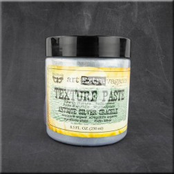 Texture Paste Finnabair (250 ml) Antique Silver Crackle