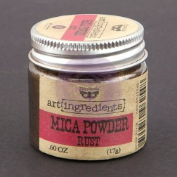 Mica Powder Rust (17g) Finnabair art ingredients