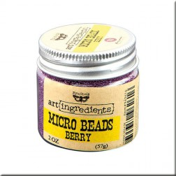 Micro Beads Berry (57g) Finnabair art ingredients
