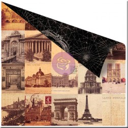 Papel Scrapbooking Cartography (30x30)