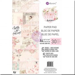 Papeles Scrapbooking Love Story (A4) Prima