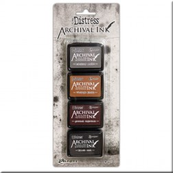 Tintas Mini Archival Ink Kit 3 Distress