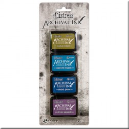 Tintas Mini Archival Ink Kit 2 Distress