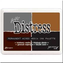 Set de 4 Tintas Distress Mixed Media Tim Holtz