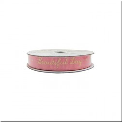 Cinta Grosgrain Rosa Beautiful Day Belle & Boo II