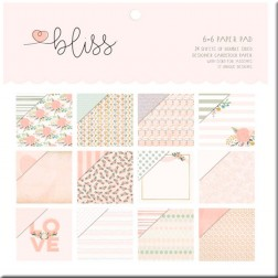 Papeles Scrapbooking Bliss (15 x 15)