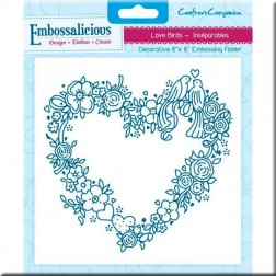Carpeta Embossing - Love Birds