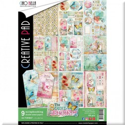 Papeles Scrapbooking The Sound of Spring (A4)