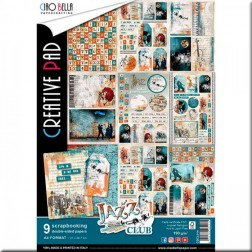 Papeles Scrapbooking Jazz Club (A4)