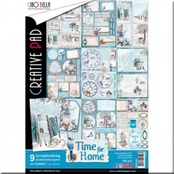 Papeles Scrapbooking Time For Home (A4)
