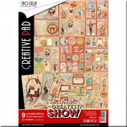 Papeles Scrapbooking The Greatest Show (A4)