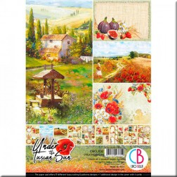 Papeles Scrapbooking Under the Tuscan Sun (A4)