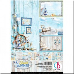 Papeles Scrapbooking The Sound of Summer (A4)