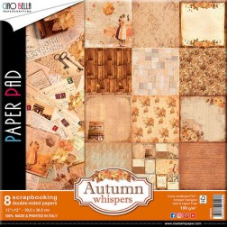 Papeles Scrapbooking Autumn Whispers (30x30)