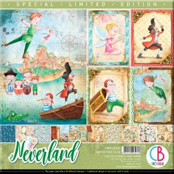 Papeles Scrapbooking Neverland Ed. Especial (30x30)