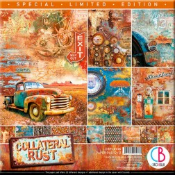 Papeles Scrapbooking Collateral Rust Ed. Especial (30x30)