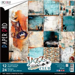 Papeles Scrapbooking Jazz Club (30x30)