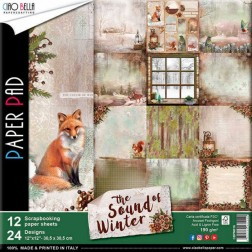 Papeles Scrapbooking The Sound Of Winter (30x30)