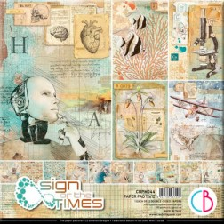 Papeles Scrapbooking Sign of the Times (30x30)