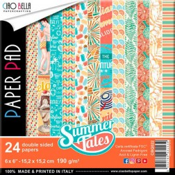 Papeles Scrapbooking Summer Tales (15x15)