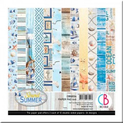 Papeles Scrapbooking The Sound of Summer (15x15)