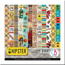 Papeles Scrapbooking Hipster (15x15)
